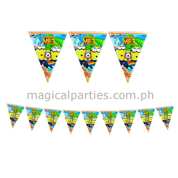 MINION 1pc Party Banner
