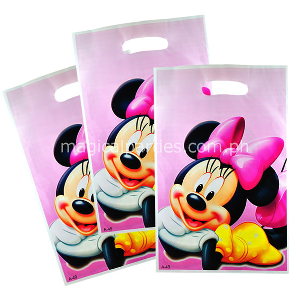 MINNIE MOUSE 6pc Party Gift Bags Set