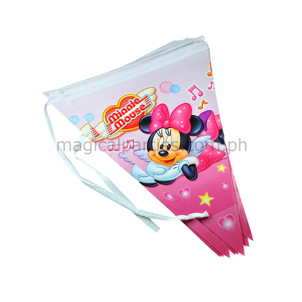 MINNIE MOUSE 1pc Party Banner