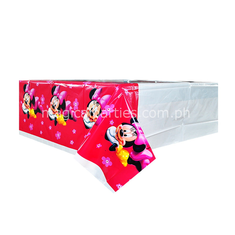 MINNIE MOUSE 1pc Table Cover  sc 1 st  Magical Parties & MINNIE MOUSE Party Supplies Table Cover \u2013 Magical Parties   Online ...