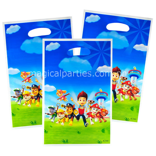 PAW PATROL 6pc Party Gift Bags Set