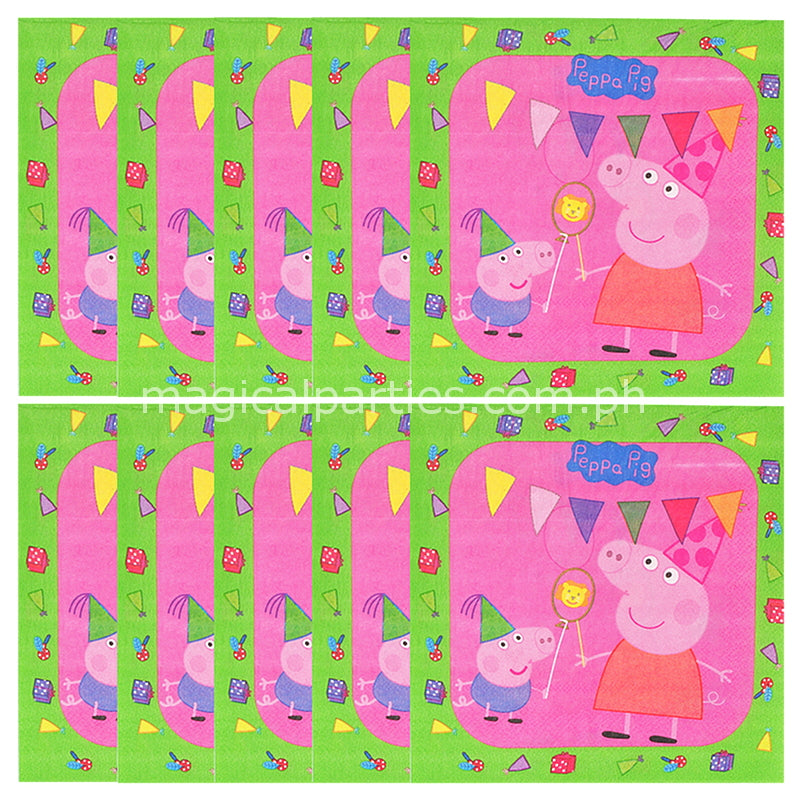 fresh pig attachment party george birthday decor of ideas garden decorations peppa