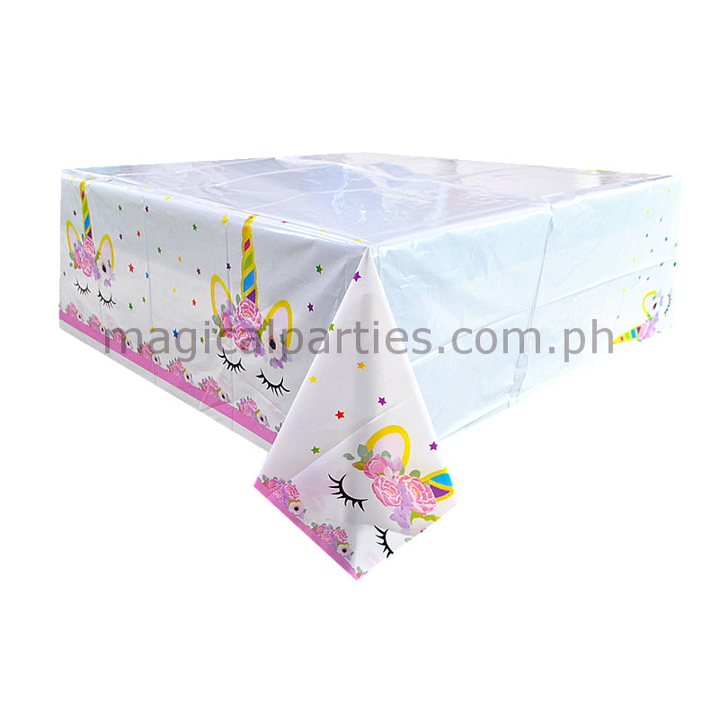 PINK UNICORN 1pc Table Cover