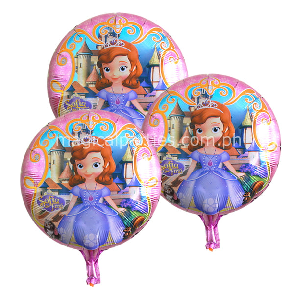 SOFIA THE FIRST Character Foil Balloon
