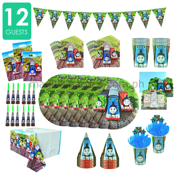 THOMAS & FRIENDS Party Kit Deluxe Set for 12 Guests