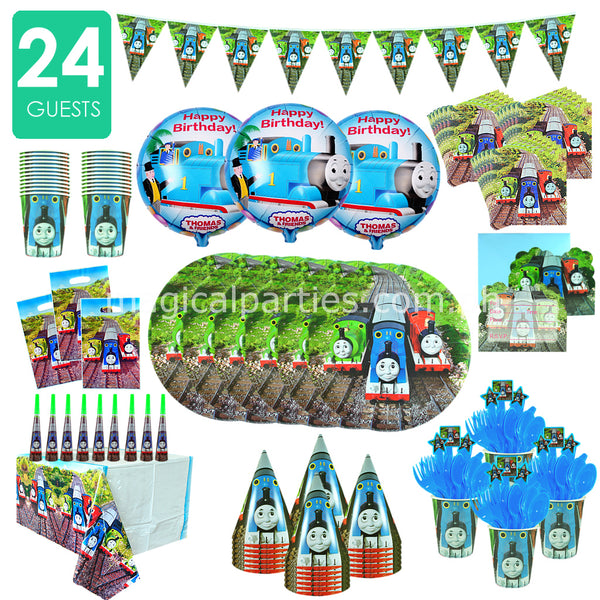 THOMAS & FRIENDS Party Kit Premium Set for 24 Guests