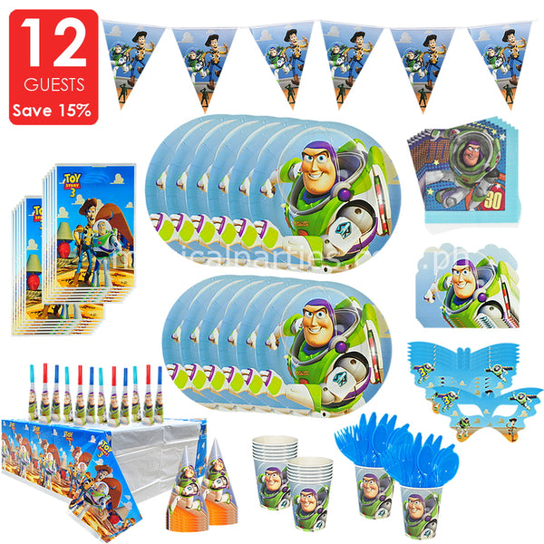TOYS STORY Party Deluxe Set for 12 Guests