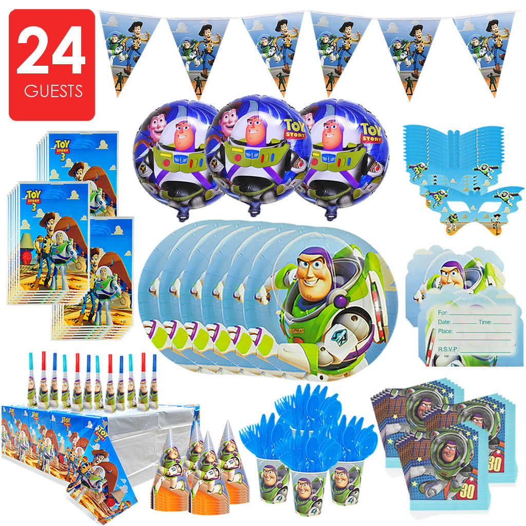 TOY STORY Party Premium Set for 24 Guests