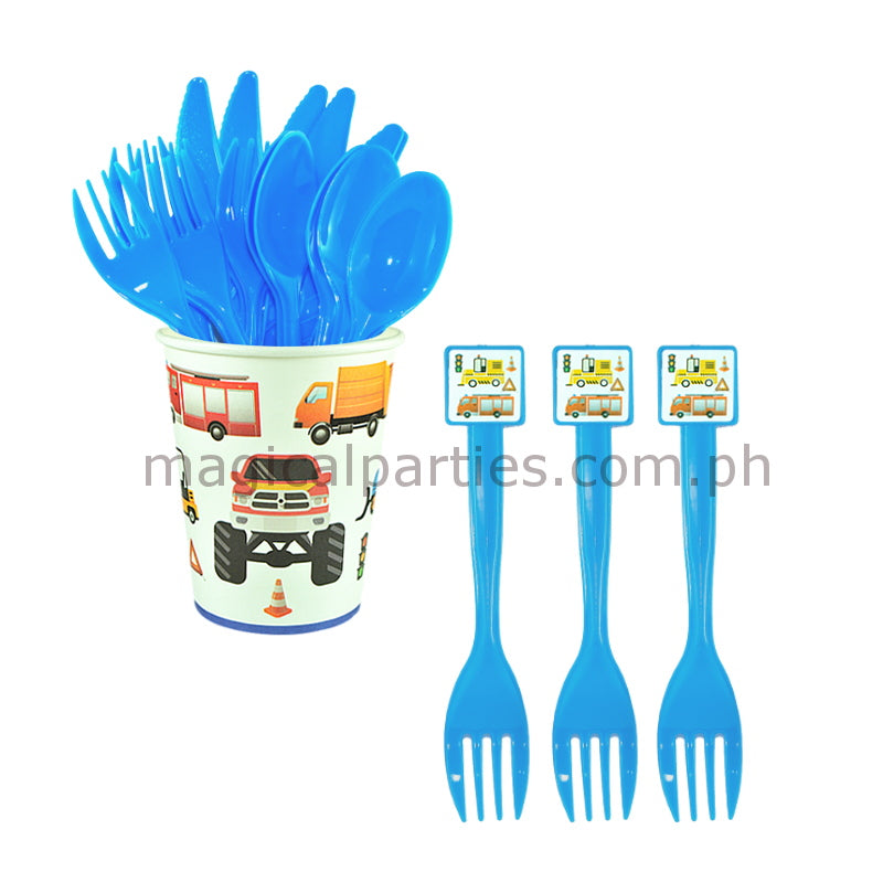 TRUCKS 6pc Party Fork Set