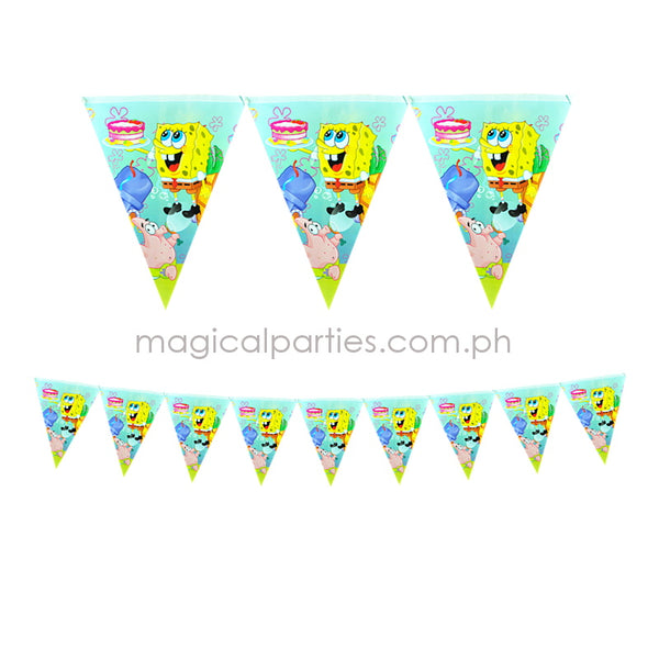SPONGEBOB 1pc Party Banner