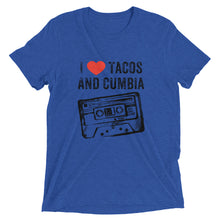 I Heart Tacos and Cumbia Cassette Tape Ladies T Shirt