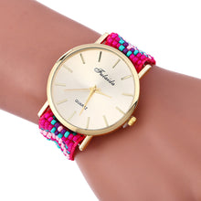 Women's Weaving Wrist Watch