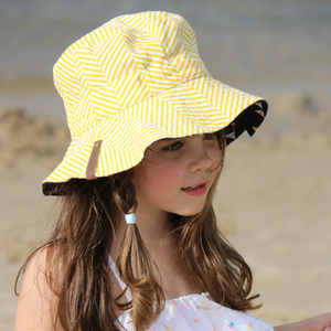 Sunny Daze Reversible Bucket Hat
