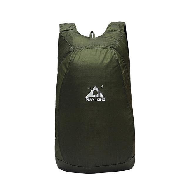 The Vilee Army Green / 20L Travel / Outdoors Packable Backpack