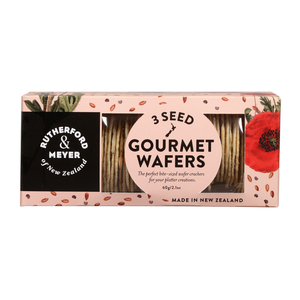 3 Seed Gourmet Wafer Cracker