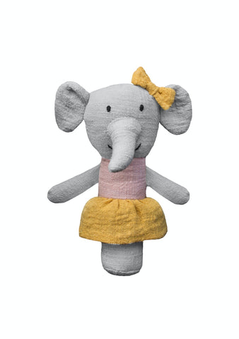 Lily & George Elephant Rattle