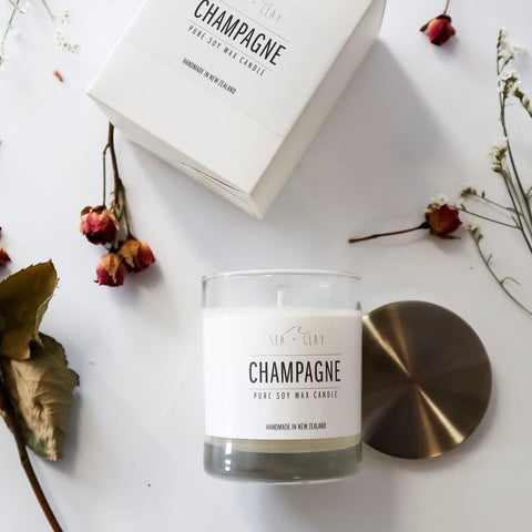Pure Soy candle-Champagne