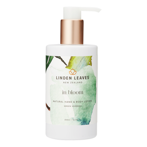 Linden Leaves Green Verbena Hand & Body Lotion