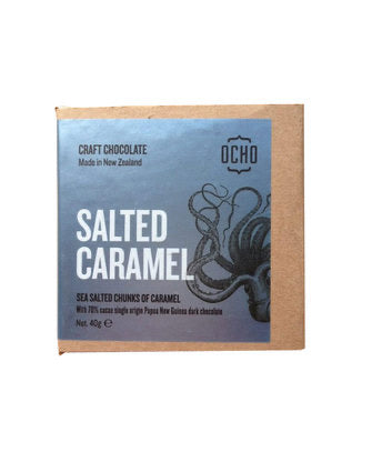 Ocho Salted Caramel Chocolate