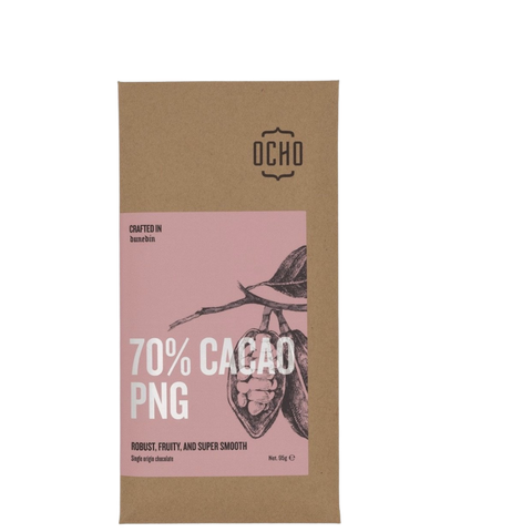 70% Cacao PNG Chocolate
