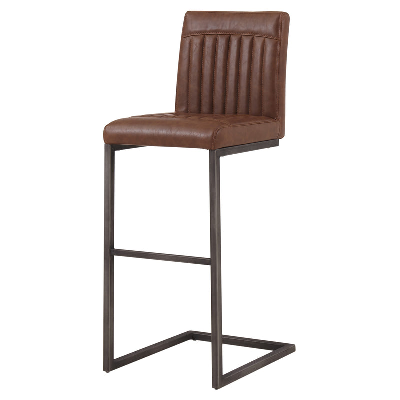 Ronan Faux Leather Bar Stool - What A Room