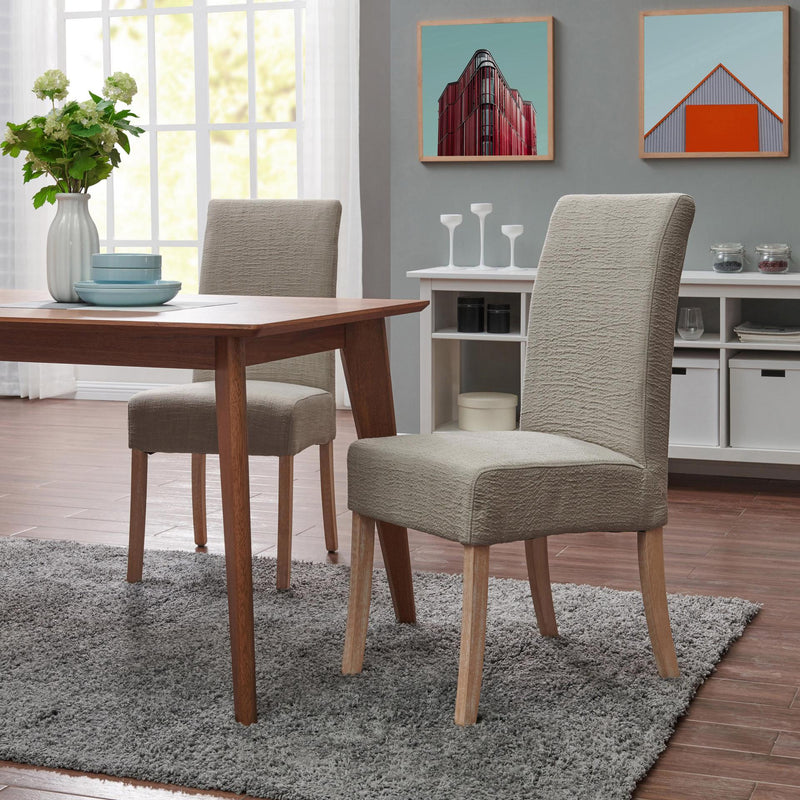 Valencia Fabric Dining Side Chair NWO Legs - What A Room