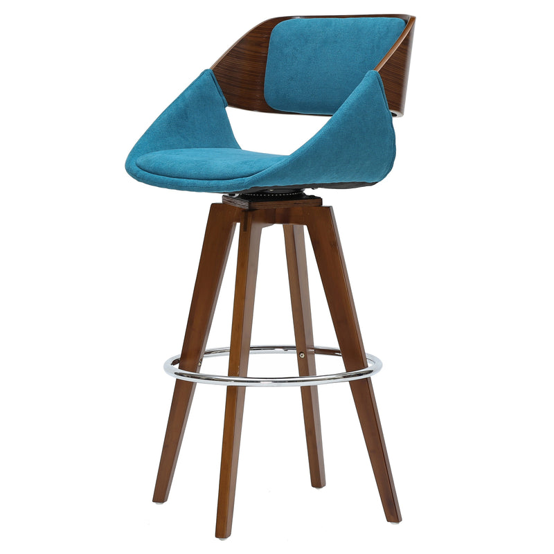 Cyprus KD Fabric Bar Stool - What A Room Furniture