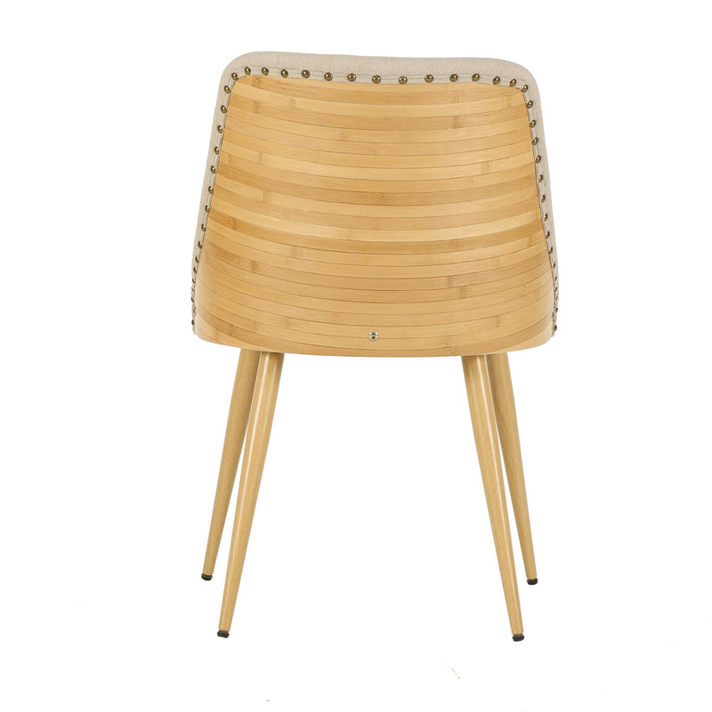 Nala KD Fabric Bamboo Chair - What A Room Furniture