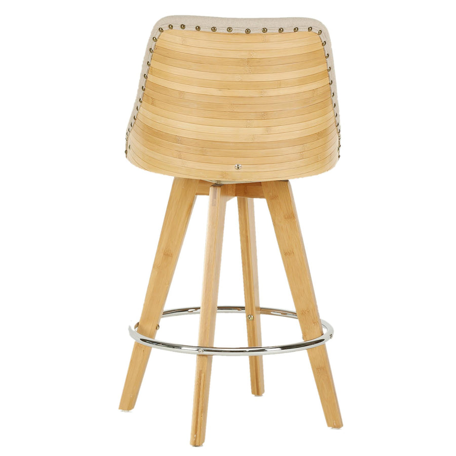 Superb Nala Kd Fabric Bamboo Swivel Counter Stool What A Room Ocoug Best Dining Table And Chair Ideas Images Ocougorg