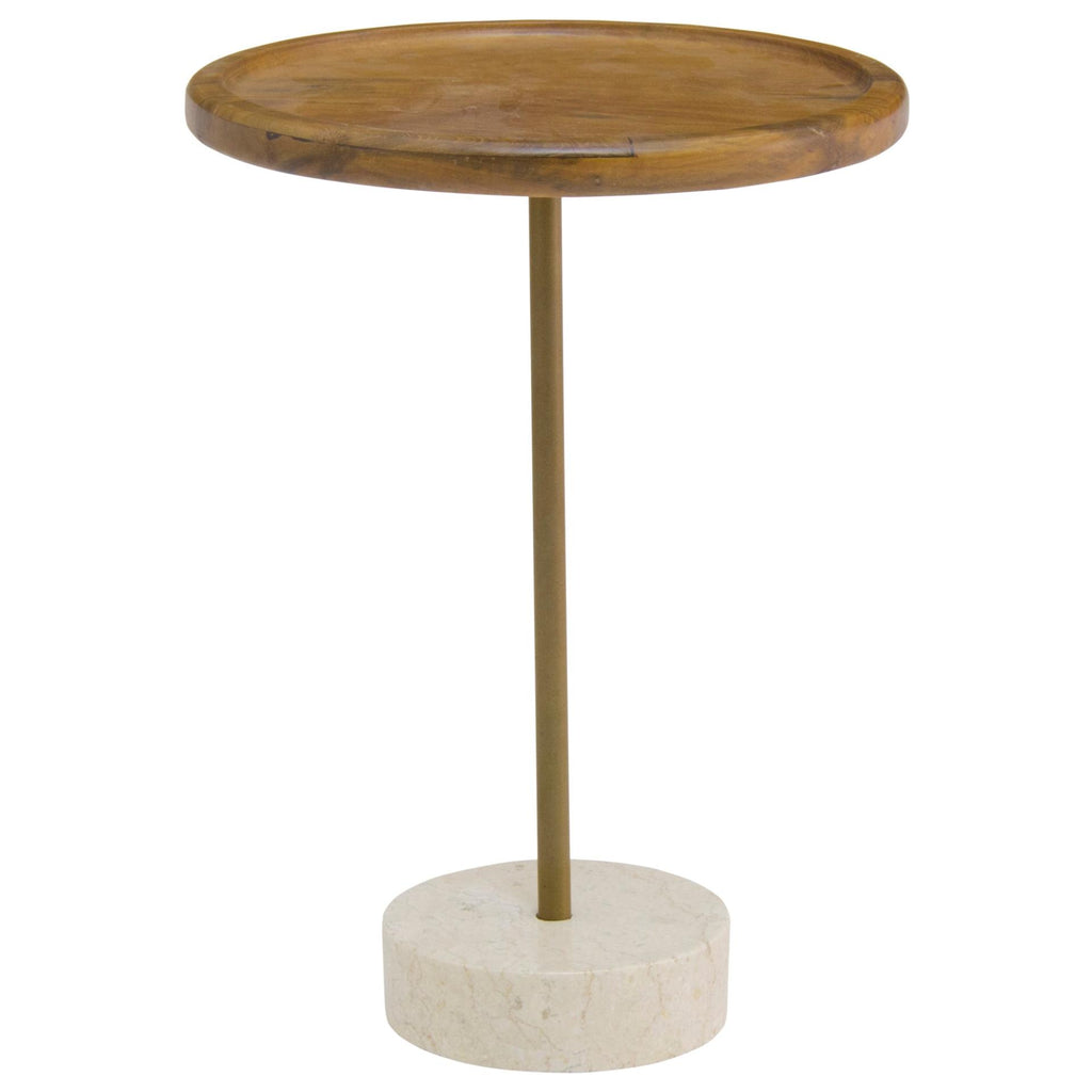 Roya KD Teak End Table - What A Room Furniture