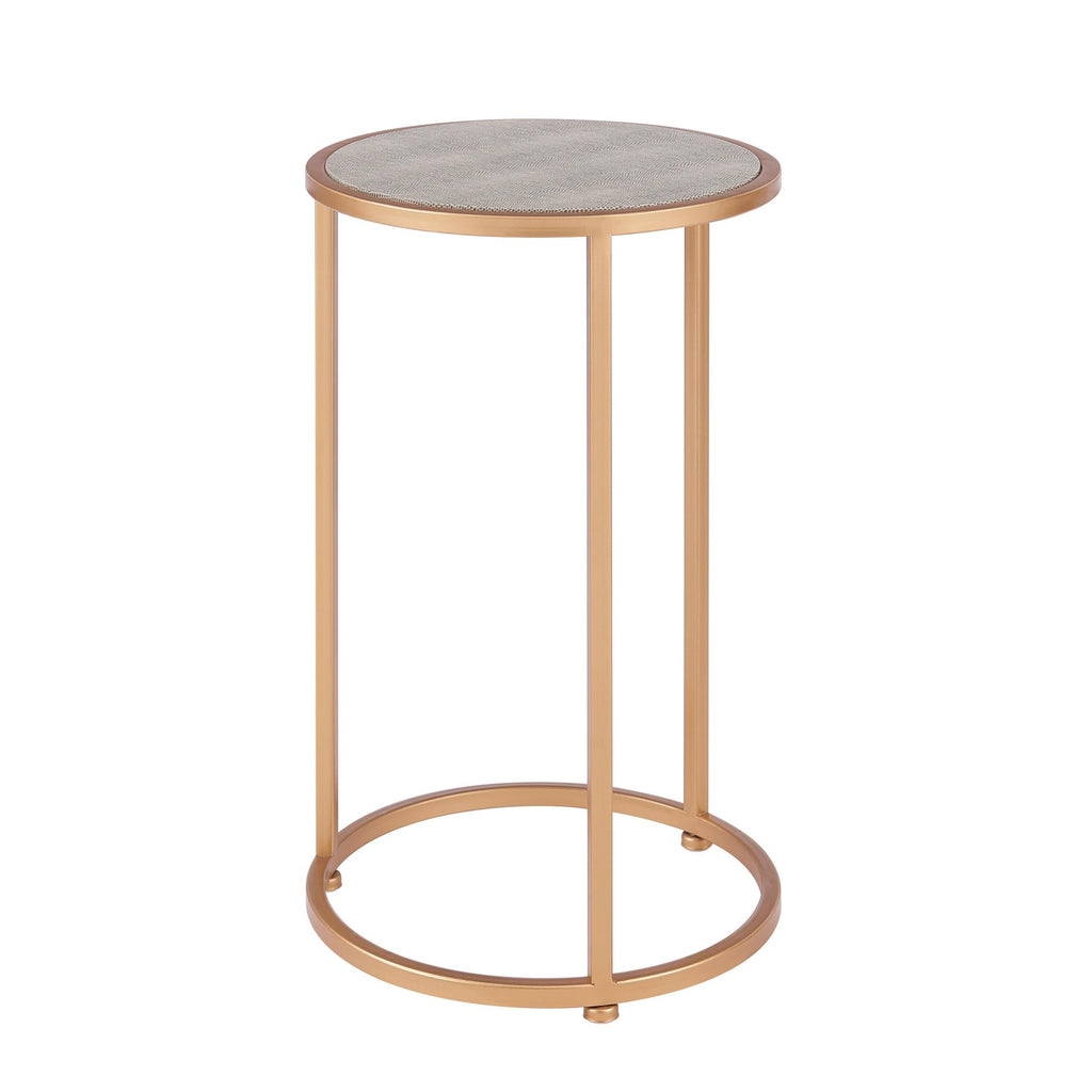 Anza Shagreen Nesting End Table Set of 2