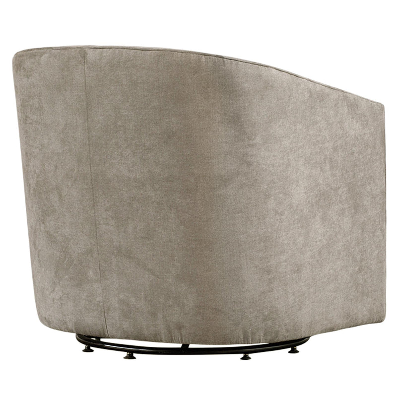 Walsh Fabric Swivel Accent Arm Chair - What A Room