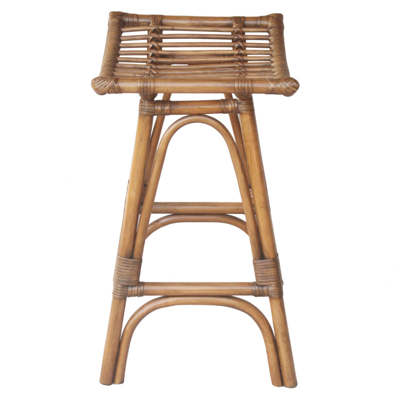Imari Rattan Counter Stool - What A Room