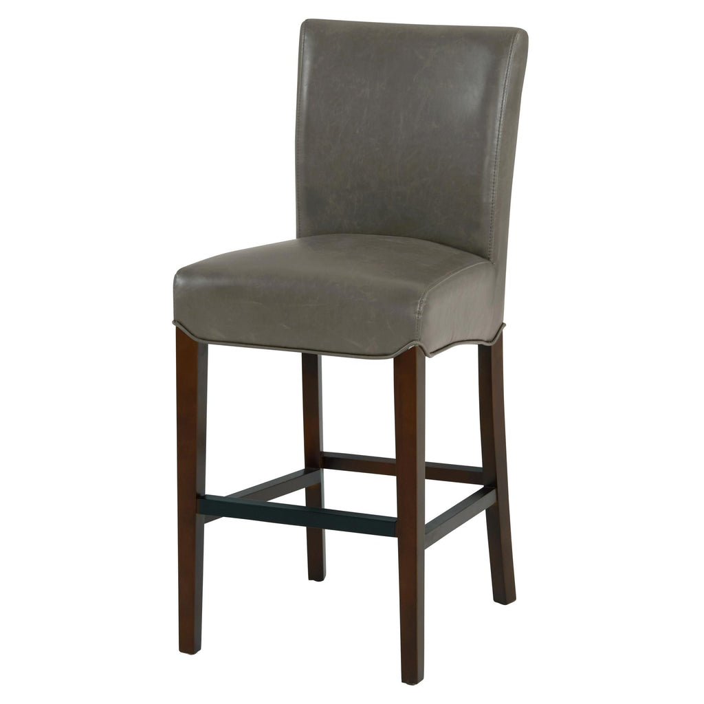 Milton Bonded Leather Counter Stool