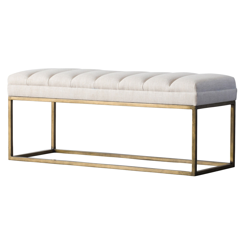 Darius Fabric Bench - What A Room Furniture