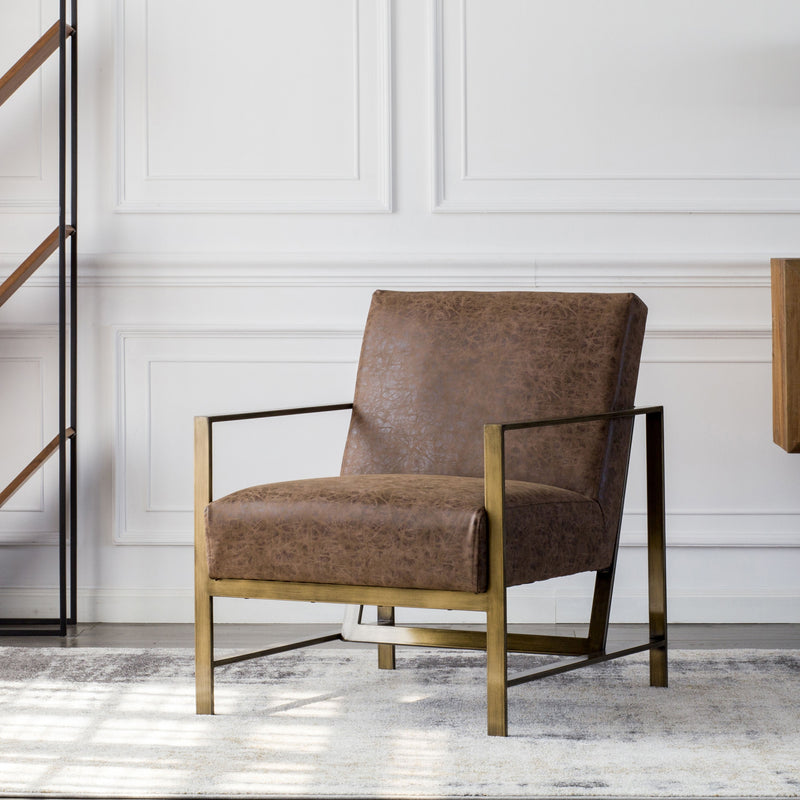 Francis PU Arm Chair - What A Room Furniture