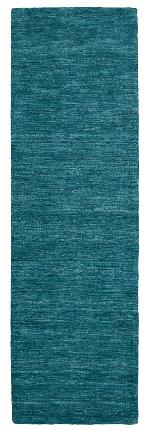 Luna Contemporary Solid Color Teal - What A Room