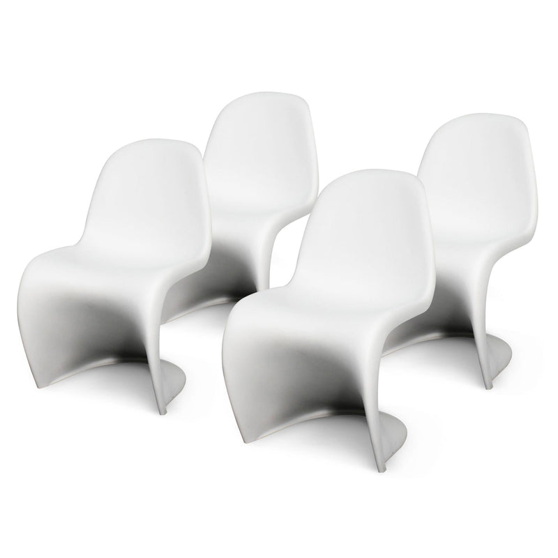 Groovy Molded PP Dining Side Chair - What A Room