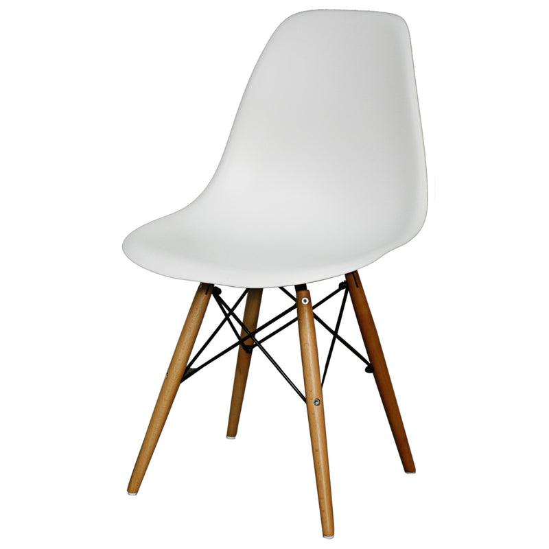 Allen Molded PP Chair Maple Legs - What A Room Furniture