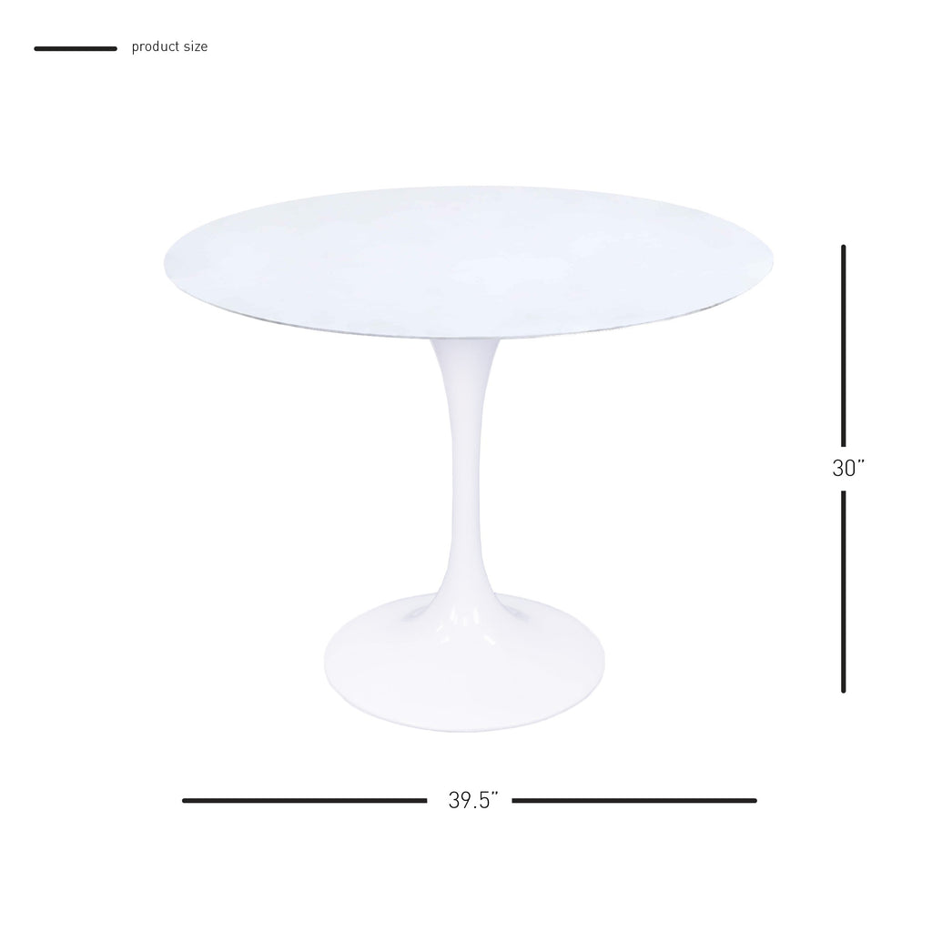 "Allie 39"" Round Table - What A Room Furniture"