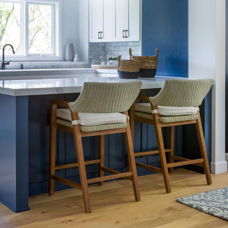 Shiloh Rattan Counter Stool - What A Room