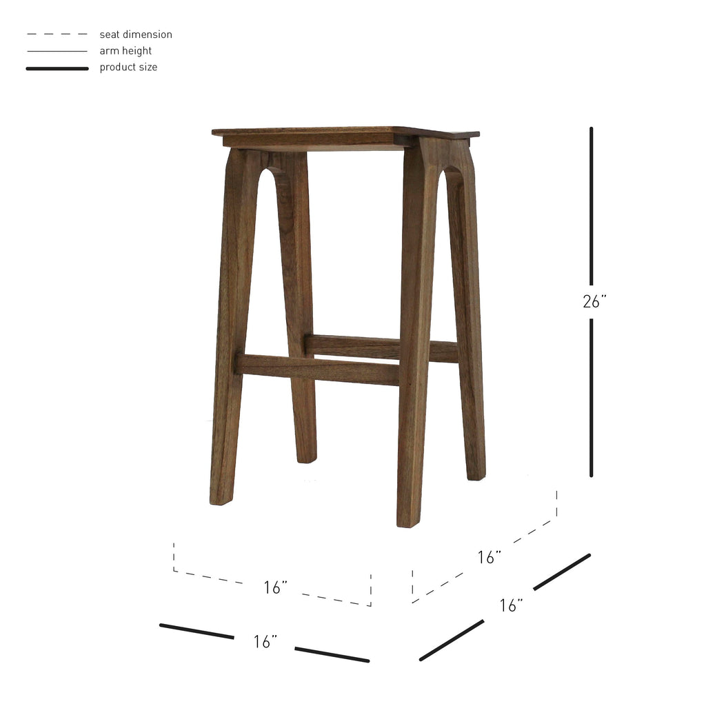 Preston Counter Stool - What A Room Furniture