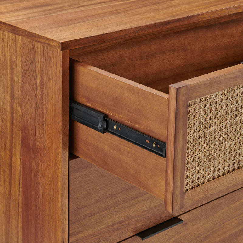 Caine Rattan Chest 3 Drawers - What A Room