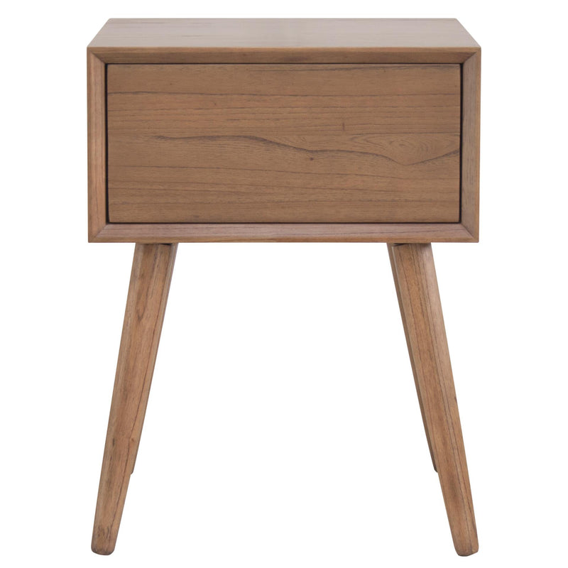 Henley Night Stand/ Side Table Wooden Legs - What A Room