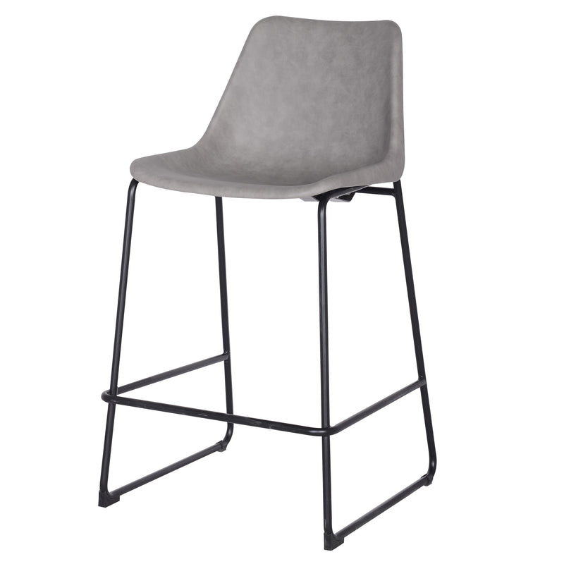 Delta PU ABS Counter Stool - What A Room Furniture