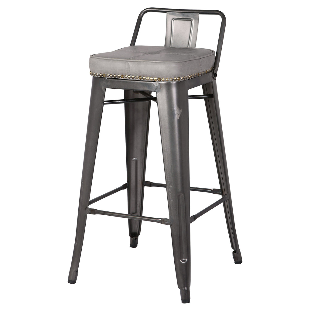 Metropolis Low Back Counter Stool - What A Room Furniture