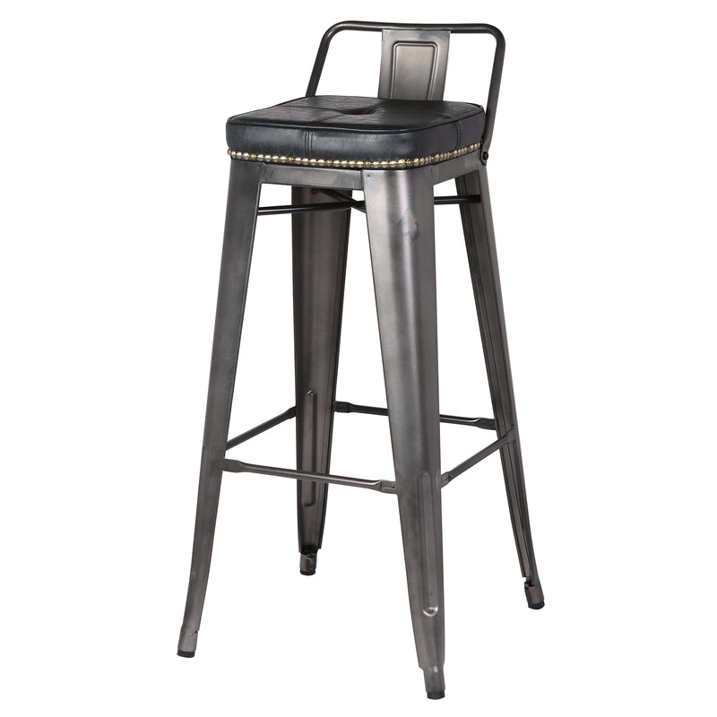 Metropolis Low Back Counter Stool