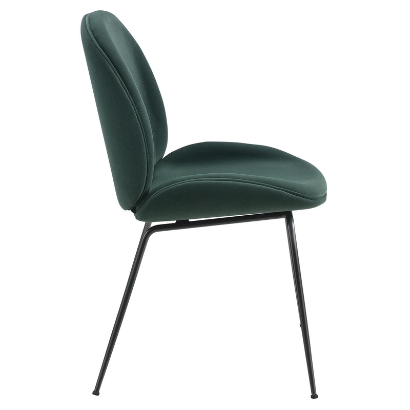 Lucy Velvet Fabric Dining Side Chair - What A Room