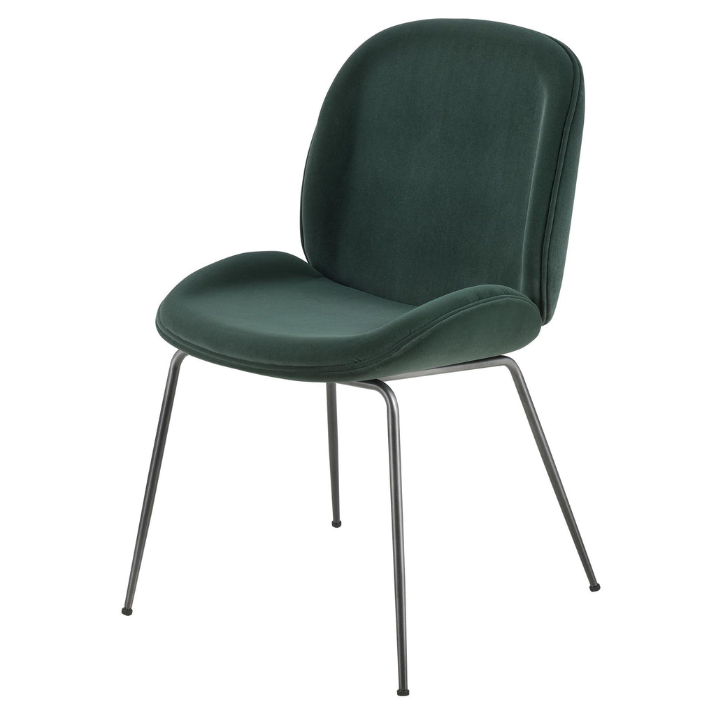 Lucy KD Velvet Fabric Chair