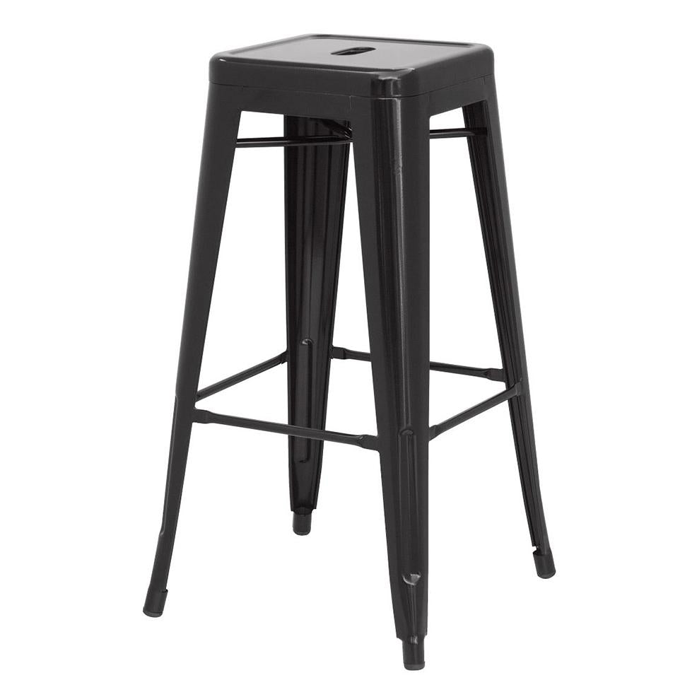 Metropolis Metal Backless Counter Stool - What A Room Furniture
